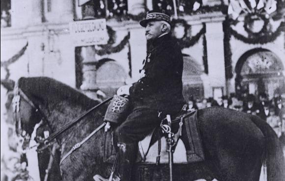 Le général Édouard de Castelnau à Colmar en 1918
